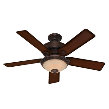 Hunter H20552 Italian Countryside 52 in. Cocoa Ceiling Fan with Light