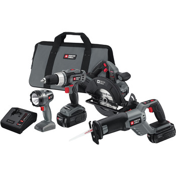 Porter-Cable Factory-Reconditioned PC418C-2R Tradesman 18V Cordless 4-Tool Combo Kit at Sears.com