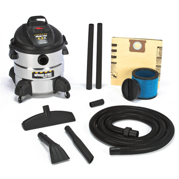 Shop-Vac&#174 5866110 8 Gallon 5.5 Peak HP Stainless Steel Right Stuff Wet/Dry Vacuum at Sears.com