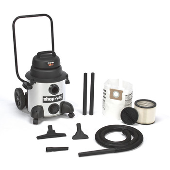Shop-Vac&#174 9712900 8 Gallon 4.0 Peak HP Stainless Steel Wet/Dry Vacuum at Sears.com