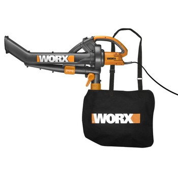 Worx WG500 12 Amp Single Speed TriVac Handheld Electric Blower Mulcher Vac at Sears.com