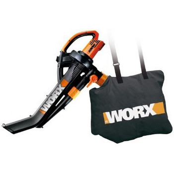 Worx WG502 12 Amp Single Speed TriVac Delux Handheld Electric Blower Mulcher Vac at Sears.com