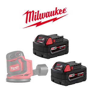 Your choice of a FREE Milwaukee M18 Bare Tool when you order a Milwaukee M18 5Ah Battery Pack.