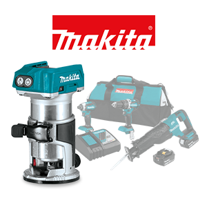 Your choice of a FREE Makita 18V LXT Bare Tool or Battery when you order a qualifying Makita 18V LXT Combo Kit