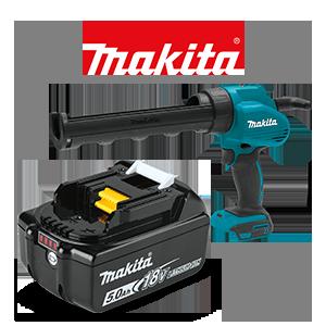 FREE Makita 18V LXT 5 Ah Battery when you order 2 Makita 18V LXT Specialty Tools
