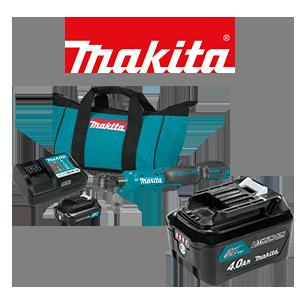 FREE Makita 12V MAX CXT 4 Ah Battery when you order a qualifying Makita 12V MAX CXT Kit