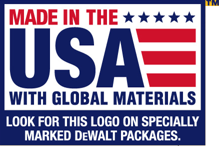 DEWALT TOOLS - MADE IN THE USA