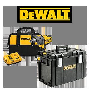 FREE DeWALT Impact Driver or Tool Case when you order a DeWALT FLEXVOLT 60V MAX 1/2 in. Mixer/Drill Kit