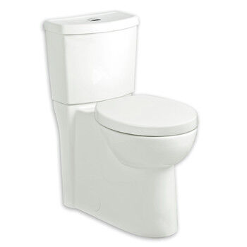 American Standard 1 6 Gpf Studio Dual Flush Right Height Round Front Toilet White