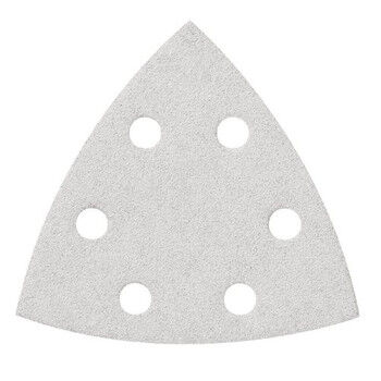 Bosch SDTW240 240 Grit White Detail Triangular Hook and Loop Sanding Sheet 5 pack