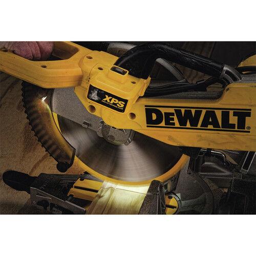 Dewalt 12 In Double Bevel Compound Miter Saw W Xps Light