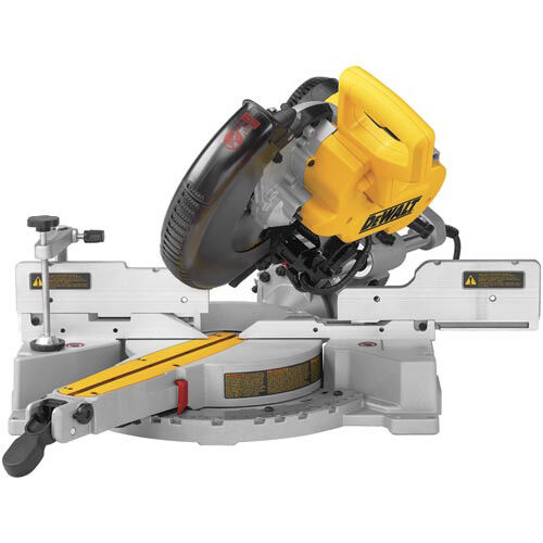 "DEWALT 10"" Double Bevel Sliding Compound Miter Saw DW717 ..."
