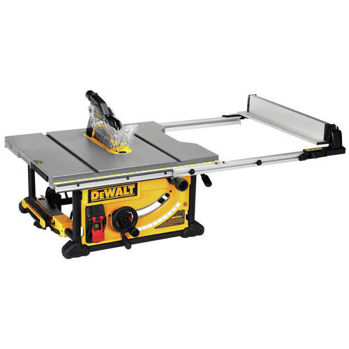 Dewalt dwe7491rs 10 in 15 amp compact jobsite table saw for 10 jobsite table saw