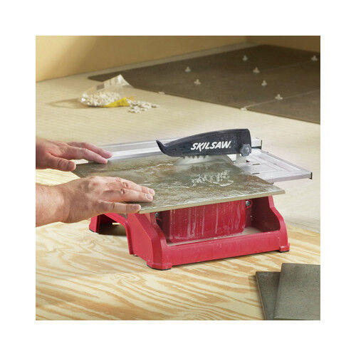 Skil 354002 7 In 18 Lbs Wet Tile Saw With 0 45 Degree