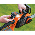 Black & Decker LCS1020 20V MAX Brushed Lithium-Ion 10 in. Cordless Chainsaw Kit (2 Ah) image number 5