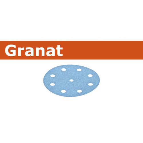 Festool 499636 9 in. P80-Grit Granat Abrasive Sheet (25-Pack)