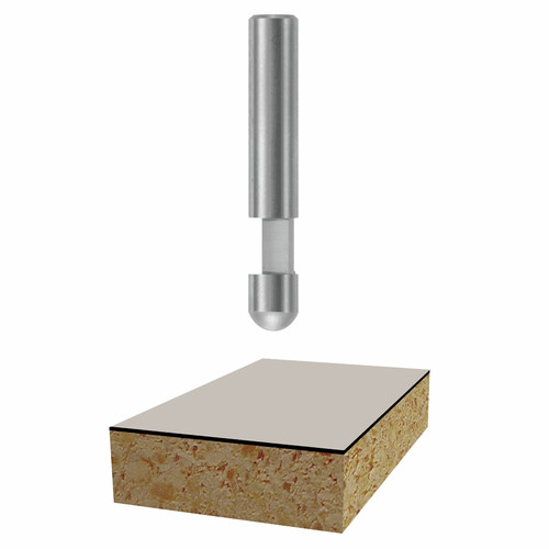 Bosch 85285 1/4 in. x 1/4 in. Solid Carbide Flush Trim Router Bit
