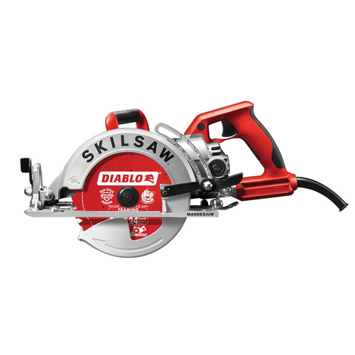 SKILSAW SPT77WML-22 Lightweight Magnesium Worm Drive 7-1/4 in. Circular Saw with Diablo Carbide Blade image number 0