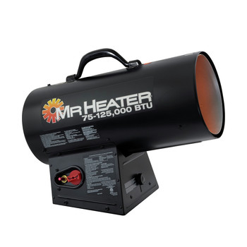 Mr. Heater F271390 75,000 - 125,000 BTU Forced Air Propane Heater image number 0