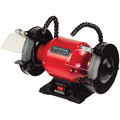 General International BG6001 6 in. 2A Bench Grinder with Twin LED Flexi Work Lights image number 0