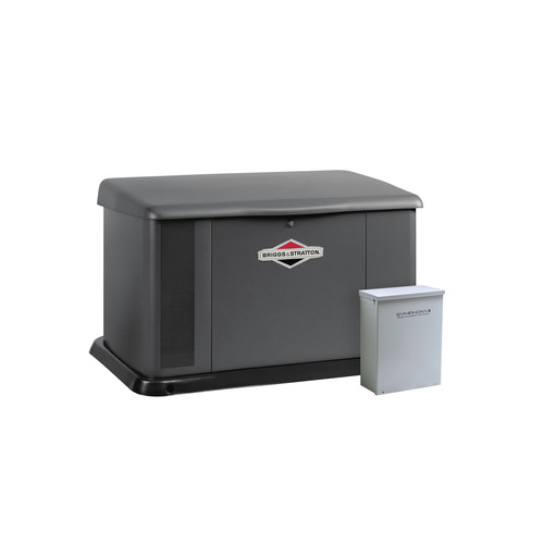 Briggs & Stratton 40582 20kW Generator with Aluminum Enclosure and 100 Amp Symphony II Switch