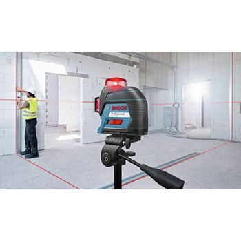 Bosch GLL3-300 360 Degrees Three-Plane Leveling and Alignment-Line Laser image number 3