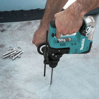 Makita RH02Z 12V max CXT Lithium-Ion 9/16 in. Rotary Hammer, accepts SDS-PLUS bits, Tool Only image number 6