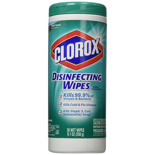 Clorox 01593 Fresh Scent Disinfecting Wipes (12-Pack) image number 0