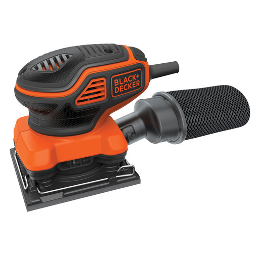 Black & Decker BDEQS300 2 Amp Quarter Sheet Sander with Paddle Switch