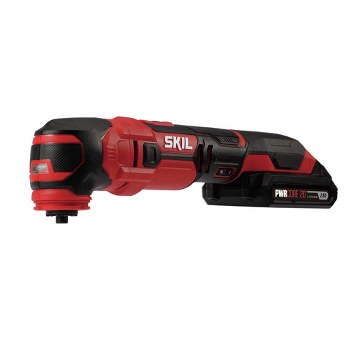 Skil OS593002 PWRCore 20 20V Oscillating Multi-Tool Kit with (1) 2 Ah Lithium-Ion Battery and Charger