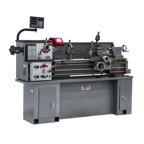 JET BDB-1340A Lathe with ACU-RITE 200T DRO Installed image number 0