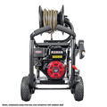 Simpson 65202 Super Pro 3600 PSI 2.5 GPM Direct Drive Small Roll Cage Professional Gas Pressure Washer with AAA Pump image number 4