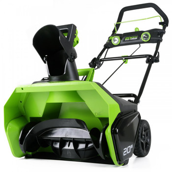 Greenworks 26272 40V G-MAX Li-Ion 20 in. Snow Thrower image number 1