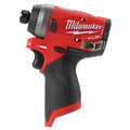 Factory Reconditioned Milwaukee 2553-80 M12 FUEL 1/4 in. Hex Impact Driver (Tool Only)