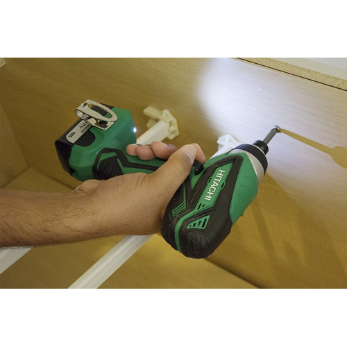 Hitachi WH10DFL2 12V Peak Li-Ion 1/4 in. Hex Impact Driver image number 4