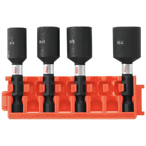 Bosch CCSNSV17804 4-Piece 1-7/8 in. Nutsetters with Clip for Custom Case System