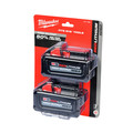 Milwaukee 48-11-1862 M18 REDLITHIUM HIGH OUTPUT XC6.0 Battery 2-Pack