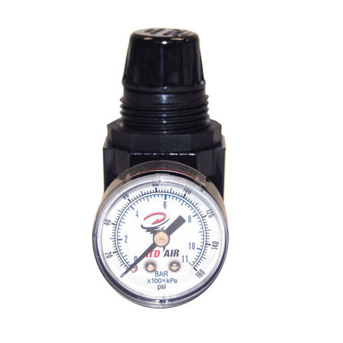 ATD 7841 Mini 1/4 in. NPT Air Regulator with Gauge 25 SCFM image number 0