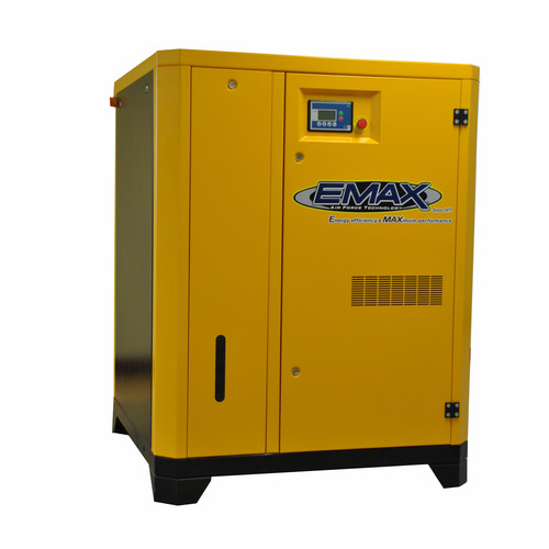 EMAX ERV0600003D 60 HP Rotary Screw Air Compressor image number 0