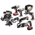 Porter-Cable PCCK619L8 20V MAX Cordless Lithium-Ion 8-Tool Combo Kit image number 1
