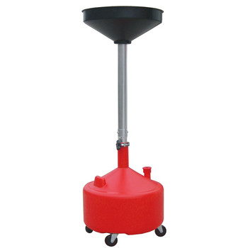 ATD 5180A 8 Gallon Plastic Waste Oil Drain with Casters