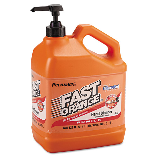 Devcon 253-25219 1 Gallon Bottle Fast Orange Pumice Lotion Hand Cleaner
