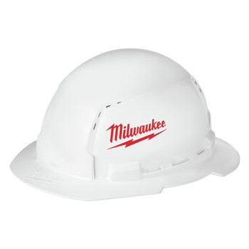 Milwaukee 48-73-1010 Type 1 Class C Full Brim Hard Hat with BOLT Accessories