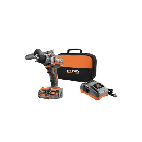 Factory Reconditioned Ridgid ZRR86009K 18V Lithium-Ion Brushless Compact 1/2 in. Cordless Drill Driver