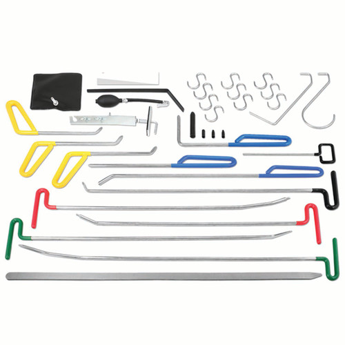 Dent Fix Equipment DF-PDRKIT33 33-Piece Paintless Dent Repair Kit