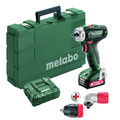 Metabo 601037620 BS 12 Quick 12V Lithium-Ion 3/8 in. Cordless Drill Driver Kit (2 Ah) image number 0