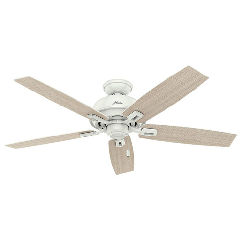 Hunter 54168 52 in. Donegan Fresh White Ceiling Fan