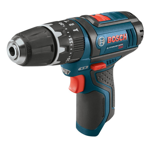 Bosch PS130BN 12V Max Lithium-Ion 3/8 in. Hammer Drill Driver (Bare Tool) with Exact-Fit Tool Insert Tray