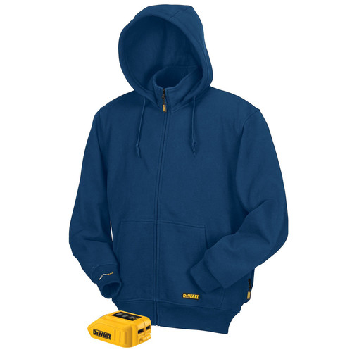 Dewalt DCHJ069B-2X 20 MAX Lithium-Ion Heated Hoodie (Blue) (2X-Large) (Bare Tool)