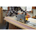 Dewalt DCS520ST1 FLEXVOLT 60V MAX 6-1/2 in. (165mm) Cordless Track Saw Kit with 59 in. Track image number 4